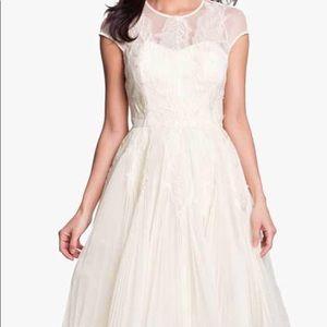 Ted Baker Miyaa dress cream size 8-10 wedding/prom
